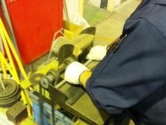 熱交換器用のパイプ加工